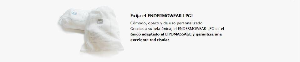 LPG Endermologie Lipomassage Endermowear