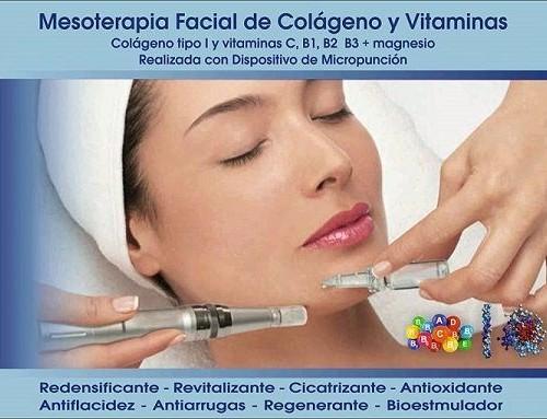 Mesoterapia Facial de Colágeno y Vitaminas